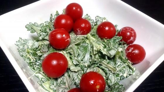 9_春菊の簡単サラダ